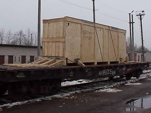 Персонализирани дървени щайги за изключителен транспорт – Wooden crates for transporting huge machines