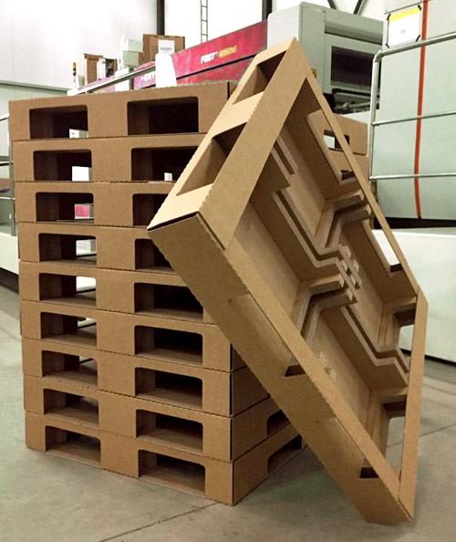 Картонените палети са леки, но здрави – Carton pallets are light but strong