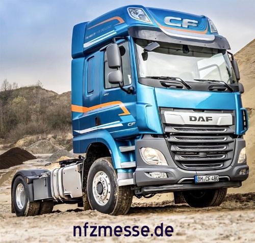 DAF CF and XF PXP: hydraulic four-wheel drive – хидравлично задвижване на четирите колела