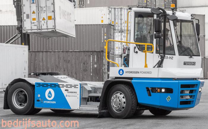Terberg develops terminal truck with hydrogen engine – Terberg разработва терминал с водороден двигател